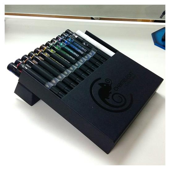 2 [Review] ปากกามาร์คเกอร์ Chameleon , 1 แท่ง ระบายได้ทั้งสีอ่อน สีเข้ม!